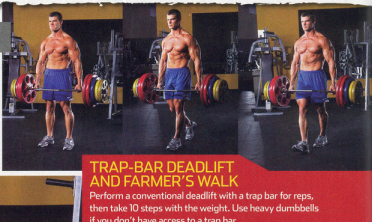 Brandon Muscle Fitness January 2010